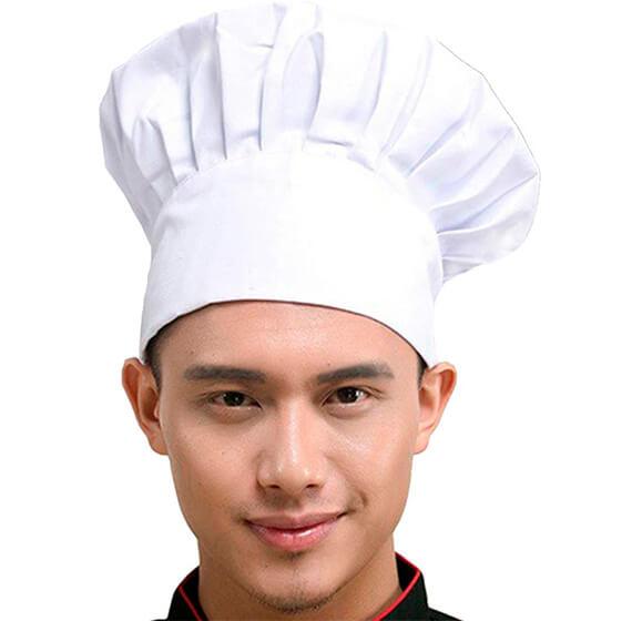 Gorro cocinero profesional