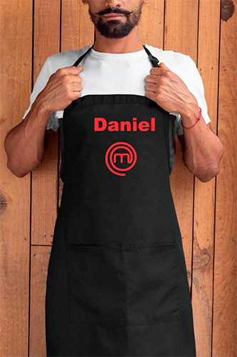Delantal MasterChef negro
